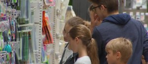 Les juillettistes à l'assaut des fournitures scolaires pour la rentrée des classes
