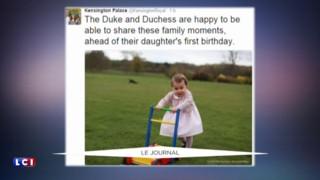 Les nouvelles photos de l'adorable princesse Charlotte dévoilées par Kate et William