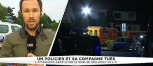 Meurtre d'un couple de policiers : un périmètre autour de la maison des victimes