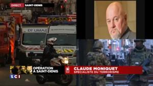"""Assaut à Saint-Denis : une femme se fait exploser, l'État islamique """"n'a pas de limites"""""""