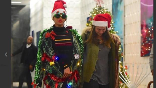 Beyoncé en sapin de Noël