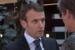 Emmanuel Macron lors d'une interview pour la chaîne arte
