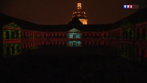 Le 20 heures du 25 avril 2014 : Nuit aux Invalides : quand les murs parlent d'Histoire - 1905.4627914428713