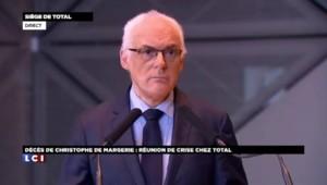 """Mort de De Margerie: """"Total doit continuer à aller de l'avant"""" déclare le Groupe"""