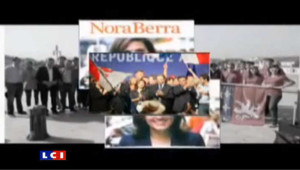 """Pour fêter leur 8è anniversaire, les """"Pop 69"""" ont tourné un clip avec la complicité de Nora Berra, qui fut conseillère régionale de Rhône-Alpes."""