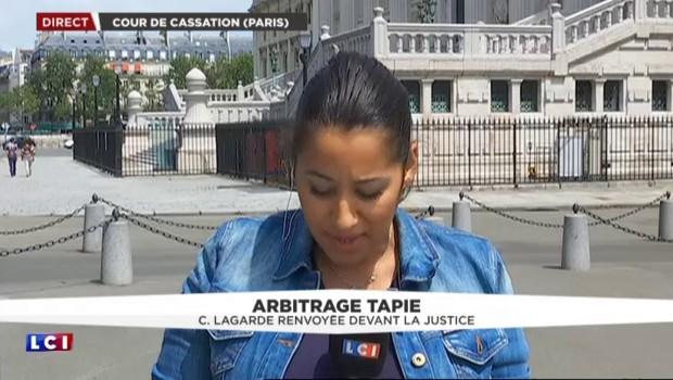 Affaire Tapie : la Cour de cassation renvoie Christine Lagarde devant la justice