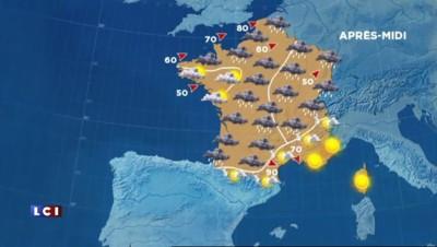 La météo mitigée du 18 décembre 2014
