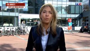 """Le 13 heures du 3 novembre 2013 : Journalistes tu�: """"on va continuer �aire notre travail"""", dit la pr�dente de France M�a Monde - 489.05361619567867"""