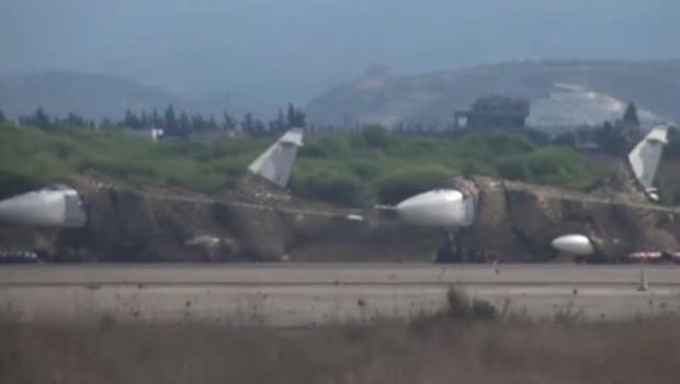 Avions russes en Syrie, septembre 2015