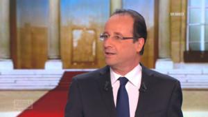 François hollande dans Parole de candidat sur TF1 le 27 février 2012