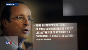 Hollande recadre ses troupes