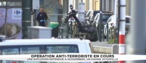 L'opération anti-terroriste à Schaerbeek serait liée à l'attentat déjoué en France
