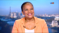 Le 20 heures du 23 avril 2013 : Mariage gay : Christiane Taubira sur le plateau du 20h - 920.132