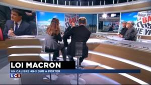"""Loi Macron : """"Un immense gâchis pour Manuel Valls"""", selon une journaliste étrangère"""