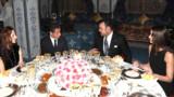 """""""Dîner familial"""" au Maroc pour le couple Sarkozy"""
