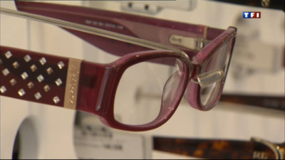 Le 20 heures du 23 avril 2013 : Nos lunettes, les plus chs d&#039;Europe - 1221.76