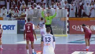 Mondial de handball: sans feinte, Guigou marque un penalty impressionnant