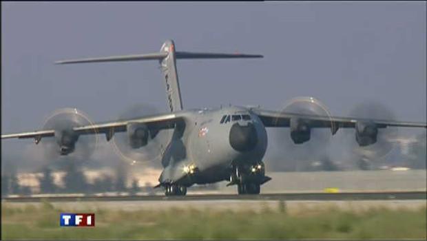 Premier vol réussi pour l'avion militaire A400M
