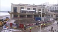 Tempête Christine : le casino de Biarritz encore touché