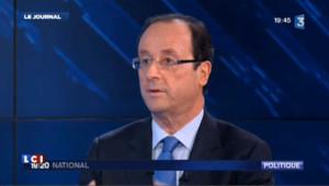 """Hollande : """"pas se laisser impressionner par quelque sondage que ce soit"""""""
