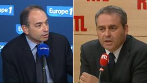 Jean-François Copé interrogé sur Europe 1, Xavier Bertrand interrogé sur RTL (19 juin 2012)