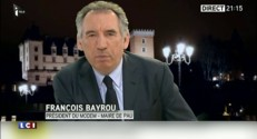 """La victoire du bloc UMP-UDI ? """"Un vote sanction"""" estime François Bayrou"""