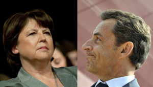 Martine Aubry - Nicolas Sarkozy