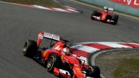 Sebastian Vettel Ferrari Essais Bahrein 2015