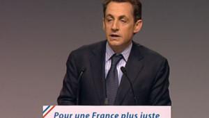 TF1/LCI : Nicolas Sarkozy en meeting politique à Douai
