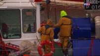 À La Turballe, avec la tempête, les pêcheurs sont bloqués à quai