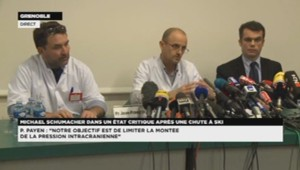 Conférence de presse sur l'état de santé de Schumacher