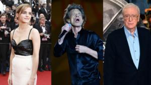 Emma Watson, Mick Jagger et Michael Caine se sont prononcés sur le Brexit.