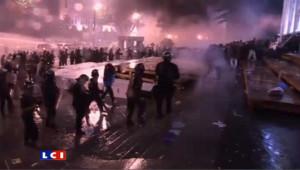 Géorgie : la manifestation de l'opposition réprimée