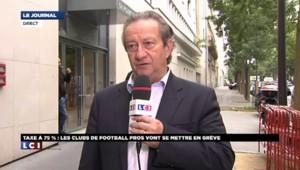 """Jean-Pierre Louvel: """"Cette taxe va ne faire qu'amplifier la destruction des clubs"""""""