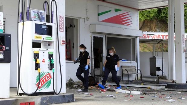 L'explosion s'est produite vers 03h30 dans la nuit de dimanche à lundi.