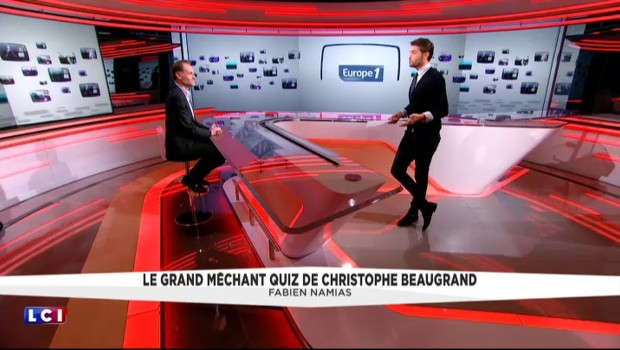 Le grand méchant quiz de Christophe Beaugrand : Fabien Namias
