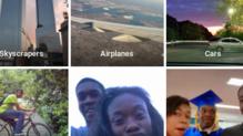 """Capture d'écran de Google photos identifiant deux personnes noires comme """"gorilles"""""""