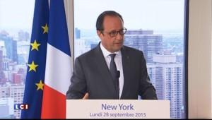 """Départ d'Assad : pour Hollande, """"les Russes doivent en tirer les conséquences"""""""