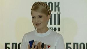 Ioula Timochenko, le jour des élections législatives anticipées