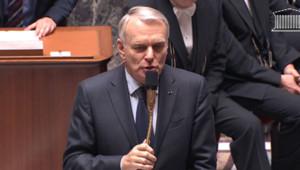 Jean-Marc Ayrault à l'Assemblée nationale le 4 décembre 2012.