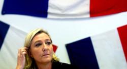 Marine Le Pen le 11 novembre 2014 à Chalons-en-Champagne.