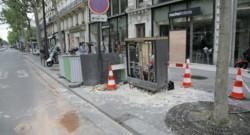 Accident paris policiers