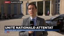 Attentat en Isère : François Hollande tente de conserver une forme d'unité nationale
