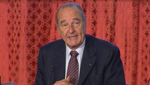 Jacques Chirac en février 2007