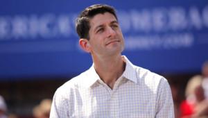 Paul Ryan, lors d'un meeting à Commerce, dans le Michigan, le 24/8/12