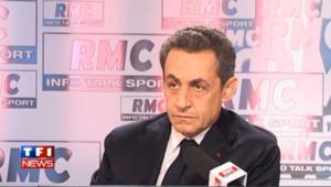 """Si Sarkozy n'est pas réélu, il """"arrête"""" la politique"""