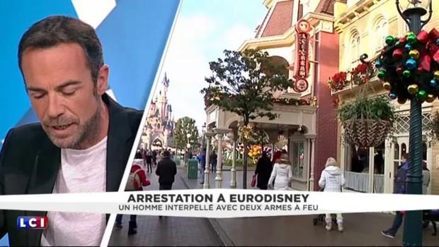 Un homme arrêté à Disneyland Paris avec deux armes : ce que l'on sait
