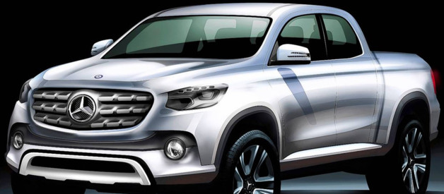 Un concept de pick-up Mercedes-Benz