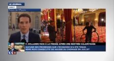 """Conférence de presse : Hollande assure le service après """"Valls"""""""