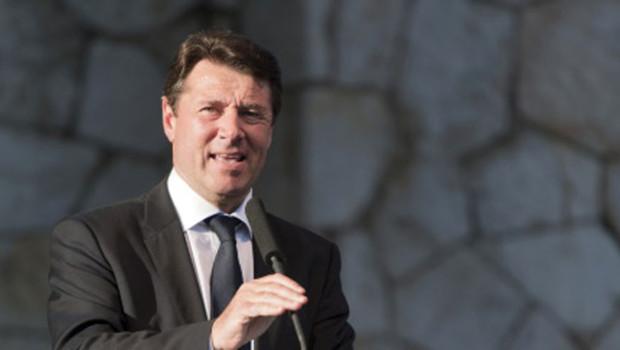 Le député-maire UMP de Nice, Christian Estrosi, le 28 avril 2012
